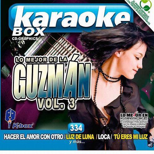 KBO-334 - Lo Mejor De la Guzmán Vol. 3