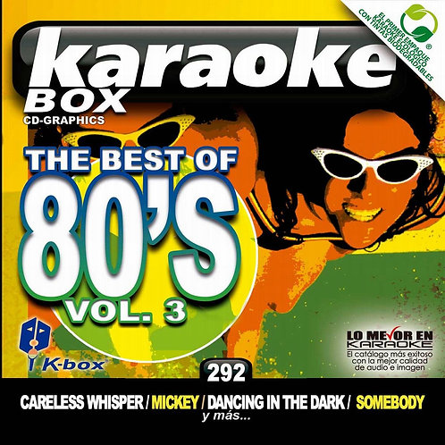 KBO-292 - The Best Of 80's Vol. 3