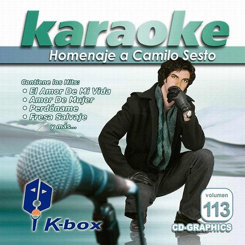 KBO-113 - Homenaje A Camilo Sesto