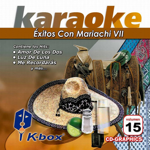 KBO-015 - Éxitos Con Mariachi VII