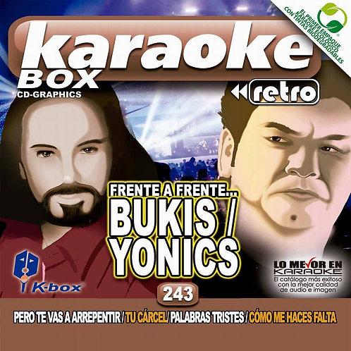 KBO-243 - Frente a frente Bukis / Yonics