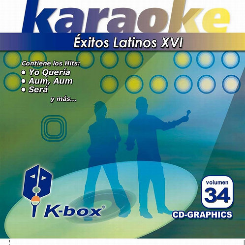 KBO-034 - Éxitos Latinos XVI