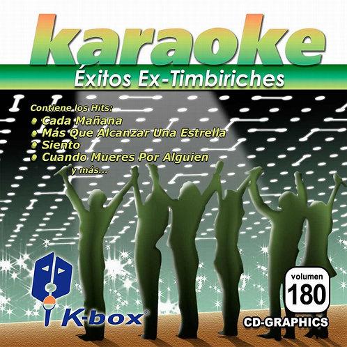 KBO-180 - Éxitos Ex-Timbiriches