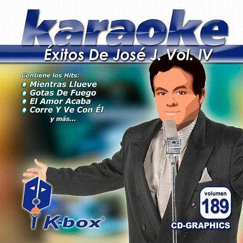 KBO-189 - Éxitos De José José Vol. 4