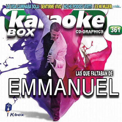 KBO-361 - Las Que Faltaban De Emmanuel