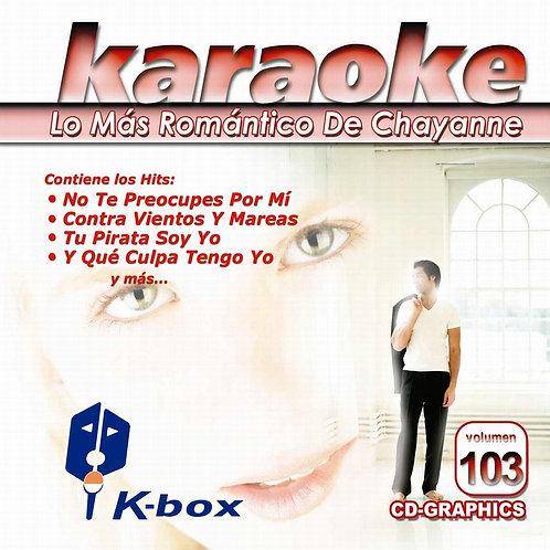 KBO-103 - Lo Más Romántico De Chayanne