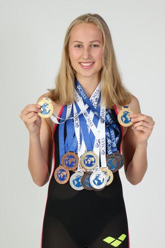 WM- und EM-Medaillen