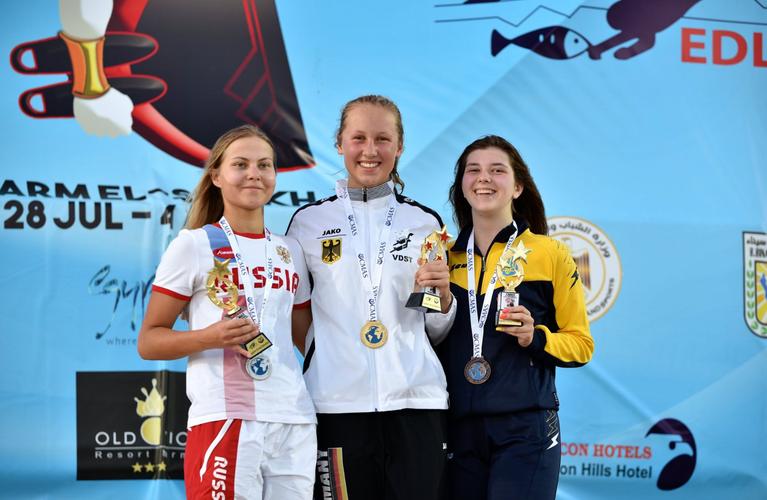 Gold über 1500 m bei den Jugendweltmeisterschaften Sharm El Sheikh 2019