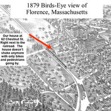 Here's a 1879 artistic version of a Bird's Eye View