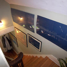 Staircase to the 2nd floor