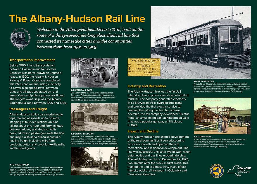 Albany Hudson Electric Trail Panels LowR