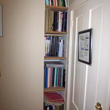 The Narrow Bookcase