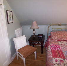Left side of the bed