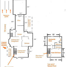 Floor plan for the entire house