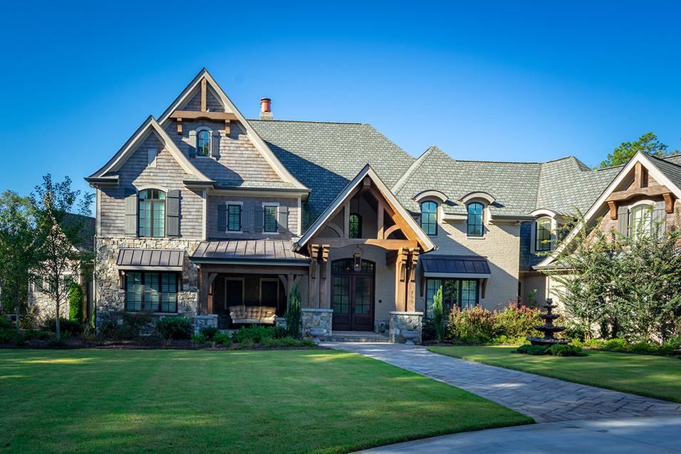 Wooded Craftsman Estate