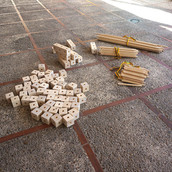 Taller de construcción de obstáculos