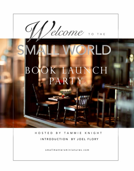 Welcome to the Small World Book Launch Party