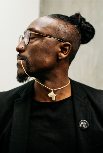 Adrian Octavius Walker - Joshua K photograph