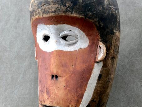 Masque de singe Vili / Vili monkey mask