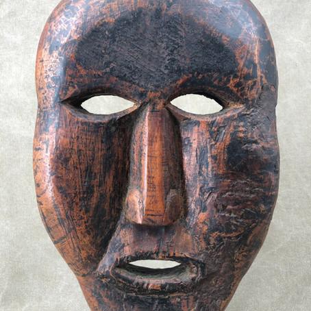 Masque du Népal /Mask from Nepal