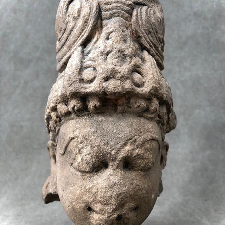 Tête d'Apsara/Apsara head