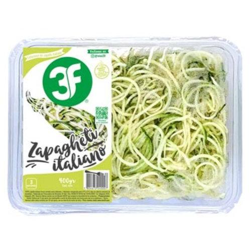Tallarines de Zapallo Italiano (3 porciones)