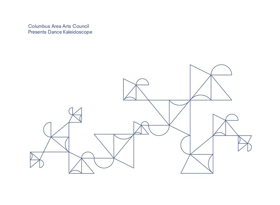 Brooke Hawkins Design | Graphics Design | Columbus, Indiana | Event graphics for Columbus Area Arts Council