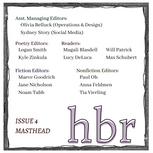 HBR4 Masthead