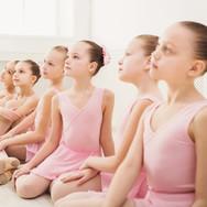 Canva - Little ballerinas in ballet stud