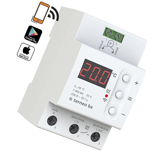 Терморегулятор terneo bx - характеристики, отзывы