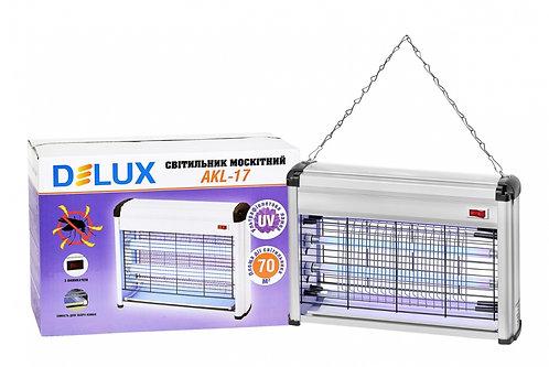 Светильник для уничтожения насекомых AKL-17 2х8Вт G5 москитный.