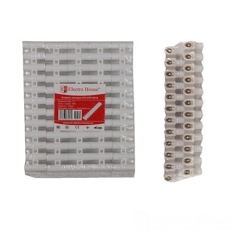 Клеммная колодка 16A 12mm² Полипропилен винтовой зажим