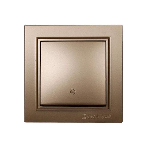 Выключатель проходной Роскошно золотой Enzo IP22