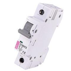 Модульный автоматический выключатель ETIMAT 6 1p C1