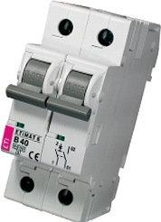 Модульный автоматический выключатель ETIMAT 6 1p+N B 40