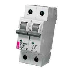 Модульный автоматический выключатель ETIMAT 6 1p+N С 10
