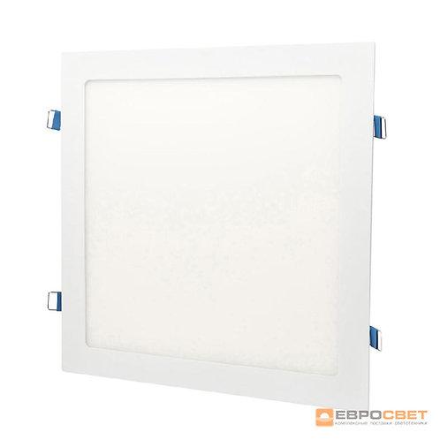 Светильник точечный врезной ЕВРОСВЕТ 18Вт квадрат LED-S-225-18 4200К