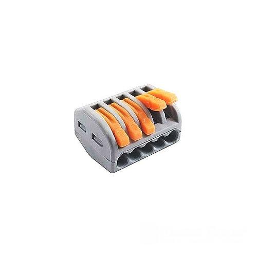 Коннектор на пять контактов (400В 32А) самозажимный