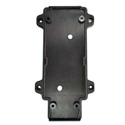 Настенное крепление черное пластик для трекового LED светильника 15W
