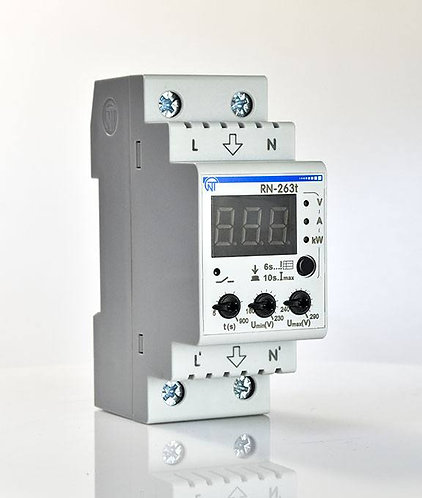 Реле напряжения РН-263t (Новатек-электро). Технические характеристики, отзывы.