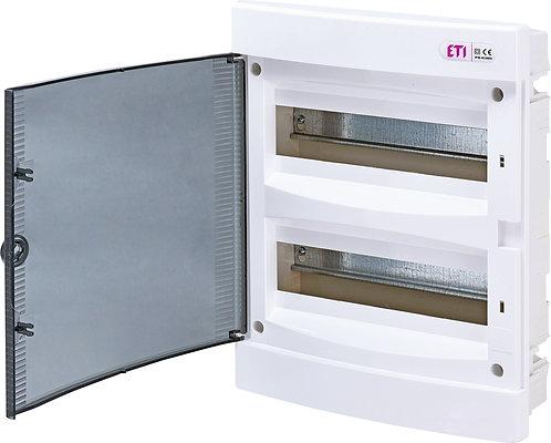 Пластиковый щит внутренней установки IP40, ECM24PT