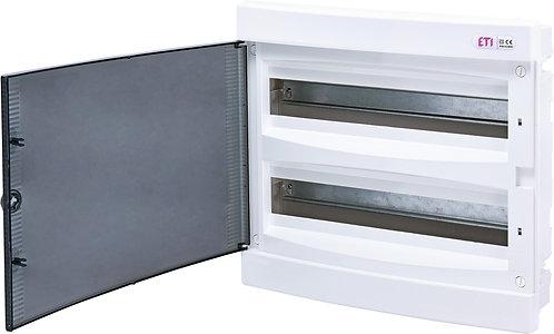 Пластиковый щит внутренней установки IP40, ECM 2x18PT