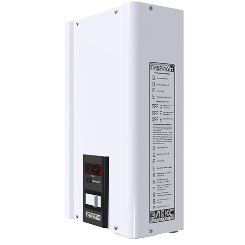 Однофазный стабилизатор напряжения ГИБРИД У 9-1-40 v2.0 (9 кВт) купить в Полтаве