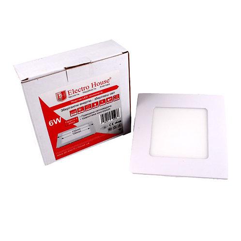 LED панель квадратная 6W 4100К 540Lm 120х120мм