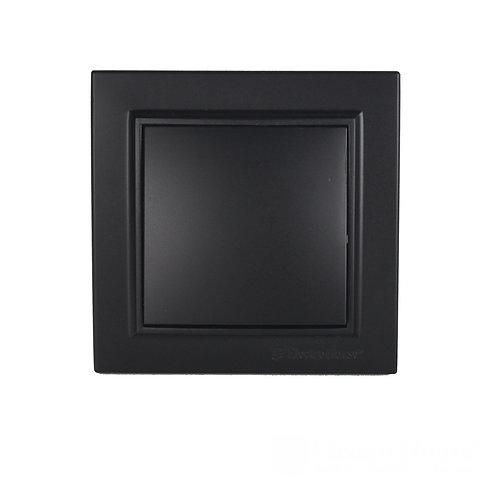Выключатель  Безупречный графит Enzo IP22