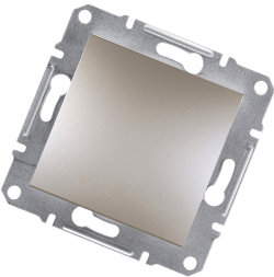 Asfora - 1 полюсная кнопка, бронза от Schneider Electric