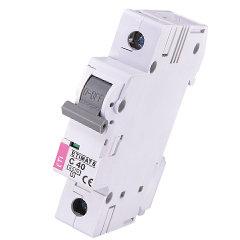 Модульный автоматический выключатель ETIMAT 6 1p C40