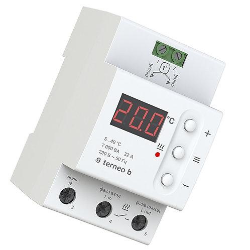 Терморегулятор terneo b - характеристики, отзывы