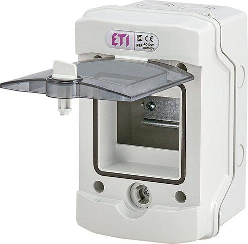 Пластиковый щит наружной установки IP 65, ECH-4G