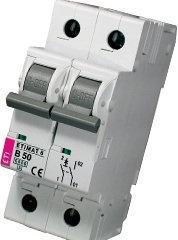 Модульный автоматический выключатель ETIMAT 6 1p+N B50